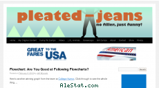 pleated-jeans.com