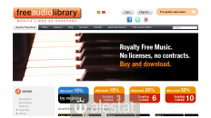 freeaudiolibrary.com