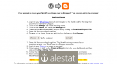 wordpress2blogger.appspot.com