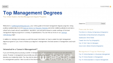 topmanagementdegrees.com