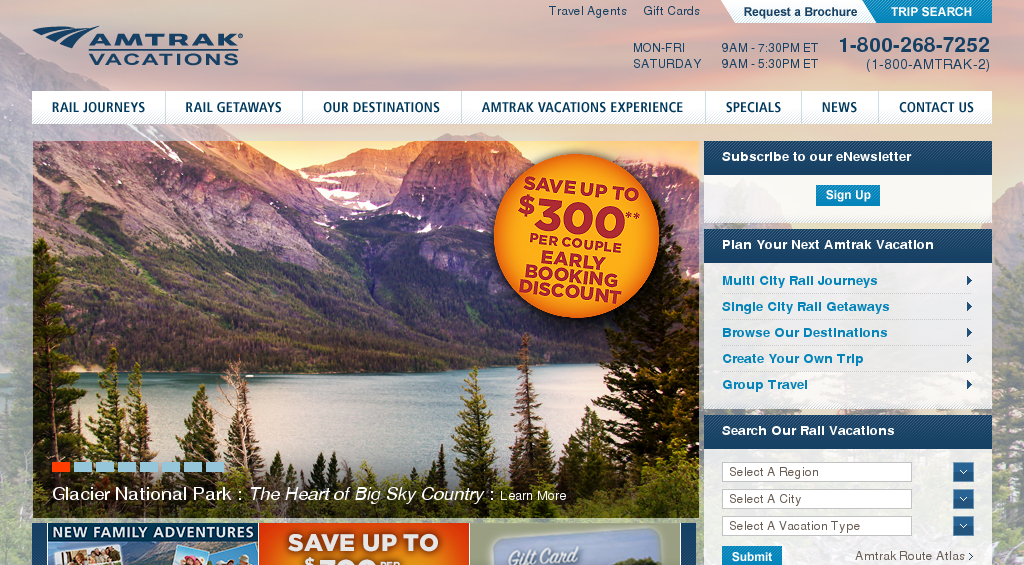 amtrakvacations.com